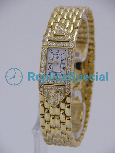 Audemars Piguet Deva Ladies 67029BA.ZZ.1091BA.01 Mens Automaattinen suorakulmion Watch