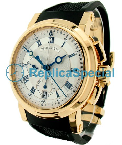 Breguet Heritage Chronograph BG - 10096S Automatic Stainless Steel Bezel Round Watch