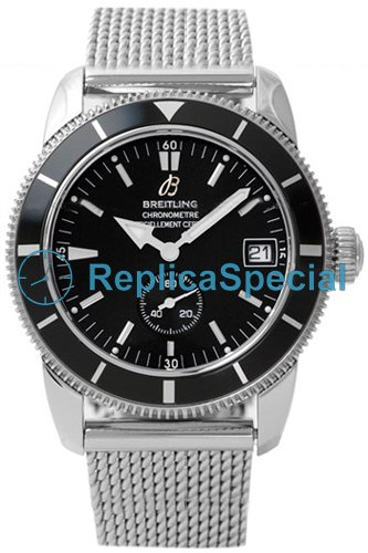 Breitling Superocean A3732024.B869 - SS Donna automatico in acciaio inossidabile Bralecet Orologio