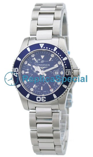 Longines Heritage L3.275.4.96.6 Naisten Stainless Steel Bralecet Blue Dial Watch