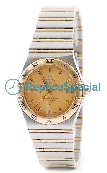 Omega Constellation 1202.10.00 Mens Automatic Champagne Soittaa