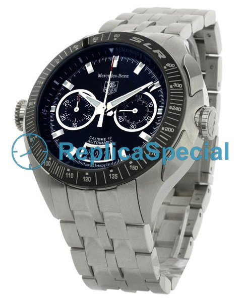 Tag Heuer SLR CAG2111.BA0253 Mens Automatic Black Dial Round Watch