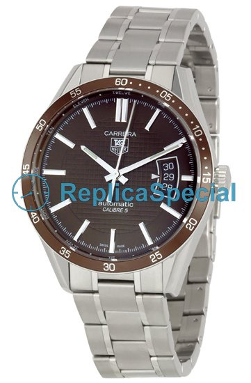 Tag Heuer Carrera THWV211NBA0787 Brown Dial Round Automatic Watch
