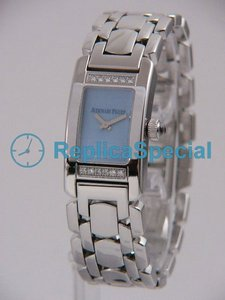 Audemars Piguet Deva Ladies 67361BC.ZZ.1180BC.01 rektangel blå ring Womens Watch