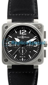 Bell Ross BR01 BR 01-94 Automatic Mens Square Watch