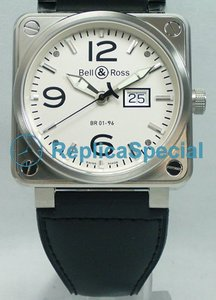 Bell Ross BR01 BR01-96 MeterDate Mens Automatic Piazza Orologio