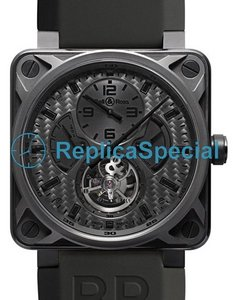 Bell Ross BR01 BR01TourbillonPhantom Mens Automatic Bracelet Watch