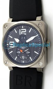 Bell Ross BR03 BR03-51 - T Titanium Case Square Kumi Bralecet Automatic Watch