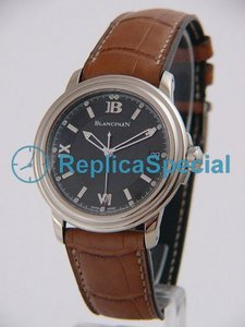 Blancpain Leman Ultra Slim 2100-1530-53 Automaattinen Stainless Steel Asia Grey Dial Watch
