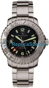 Blancpain Fifty Fathoms 2250-1130-71 Stainless Steel Case Mens Oval Watch