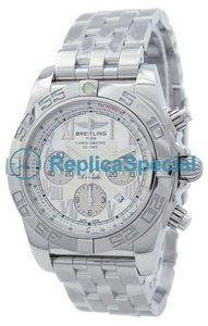 Breitling Chronomat A011G76PA lunetta in acciaio inossidabile del bianco automatico Dial Mens Watch