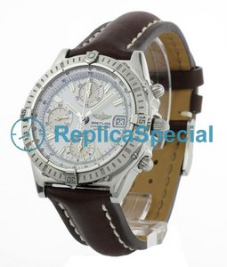Breitling Chronomat A13352 Mens Automaattinen Crocodile Skin Bralecet Watch