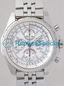 Breitling Bentley A1336212/A575 Automatic Bracelet White Dial Watch
