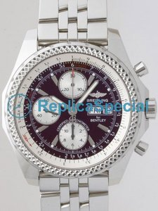 Breitling Bentley A1336212/K506 Automatic Bracelet Black Dial Watch