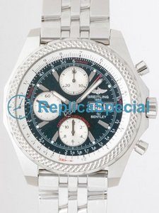 Breitling Bentley A1336212.L503-SS Stainless Steel Bezel Mens Bracelet Automatic Watch