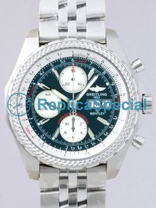 Breitling Bentley A1336313/L503 White Gold Case Stainless Steel Bralecet Automatic Watch