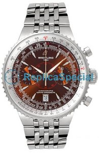 Breitling Montbrillant A2334021.Q548-SS Mens Stainless Steel Bralecet Automatic Watch