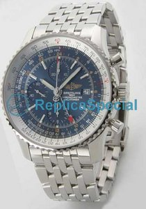 Breitling Chronomat A242C51NP Automaattinen Stainless Steel Asia Mens Blue Dial Watch