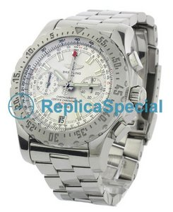 Breitling Skyracer A27362 White Dial Bracelet Automatic Stainless Steel Bralecet Watch