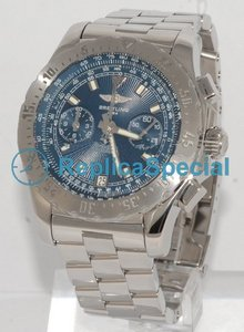 Breitling Skyracer A27362 Automatisk Stainless Steel Bralecet Round Watch