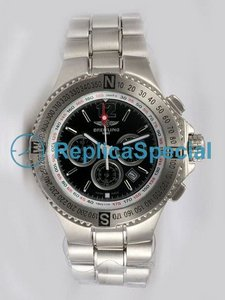 Breitling Hercules A39362-F5-887A Automatic Bracelet Stainless Steel Bralecet Watch