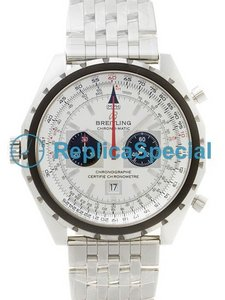 Breitling Skyracer A4136012/G589 Mens Stainless Steel Bralecet Stainless Steel Bezel Watch