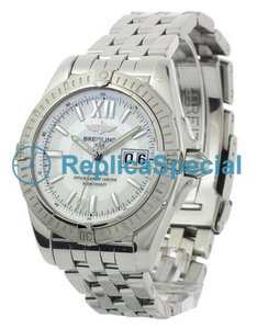 Breitling Cockpit A49350 Bracelet Stainless Steel Bralecet White Dial Watch
