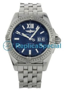 Breitling Hercules A49350 Mens Automatic Blue Dial Watch