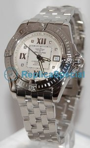 Breitling Cockpit A71356 Automatic Mens Stainless Steel Bralecet Watch