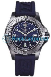 Breitling Colt A7438010 / C675 rannerengas kumi Bralecet Blue Dial kvartsikello