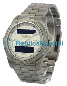Breitling Aerospace E79362 Stainless Steel Bralecet Bracelet Quartz Watch