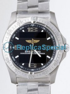 Breitling Aerospace E7936210/B781 Mens Stainless Steel Bezel Bracelet Automatic Watch