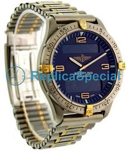 Breitling Aerospace F56062 Titanium Case Bracelet Automatic Watch