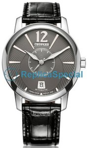 Chopard Collection spéciale 161909-1001 Mens Quartz cuir Regarder Bralecet