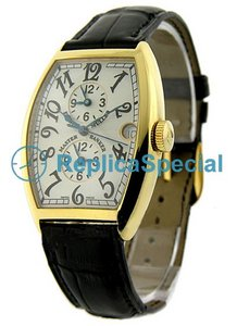 Franck Muller Maestro Banker 5850 MB Mens Tonneau Orologio automatico