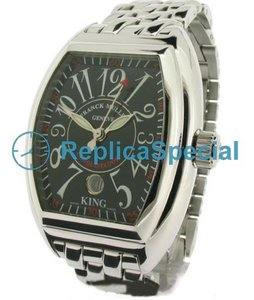 Franck Muller Conquistador FR - 0527P Stainless Steel Case armband Mens Watch