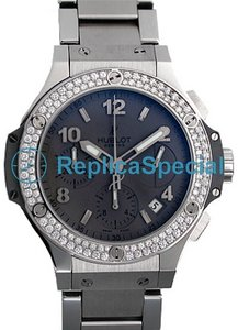 Hublot Big Bang Earl Grey 342.ST.5010.ST.1104 Automatik Herren Tantal- Zifferblatt