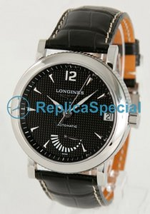 Longines Presence L2.703.4.56.0 Black Dial Automatisk Stainless Steel Bezel Watch