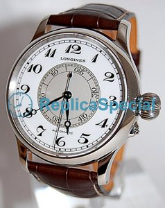 Longines Sport L2.713.4.13.0 Stainless Steel Bezel Automatic White Dial Watch