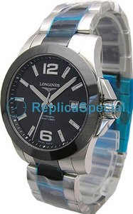 Longines Legend Diver L3.657.4.56.7 Round Automatic Black Dial Stainless Steel Case Watch