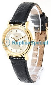 Longines Presence L4.221.2.42.2 Runda Automatisk Gold Dial