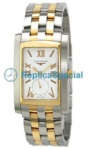 Longines Dolce Vita L5.670.5.15.6 Rectangle svizzero Quartz Mens Cassa in acciaio Orologio