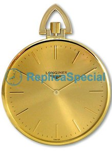 Longines Prestige Gold L70296441 Gold Dial Mens Round Watch