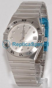 Omega Constellation 111.10.36.20.52.001 Stainless Steel Bralecet Automatic Mens Watch