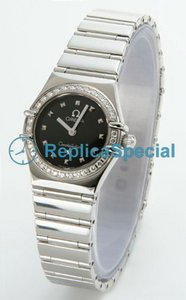 Omega Constellation Ladies 1465.51.00 Black Dial Round Womens Watch