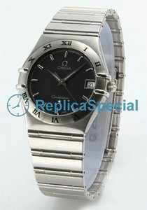 Omega Constellation 1512.40.00 Blue Dial Stainless Steel Bralecet Mens Watch