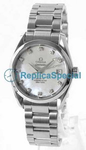 Omega Seamaster Aqua Terra 2504.75 Stainless Steel Bralecet Unisex Automatic Round Watch