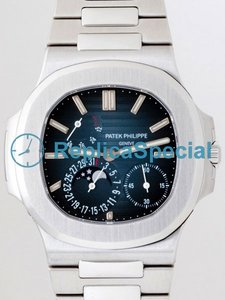 Patek Philippe Nautilus 5712-1A Stainless Steel Bralecet Automatic Bracelet Mens Watch