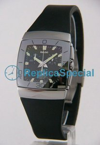 Rado Sintra R13600019 Mens Black Dial Square Watch