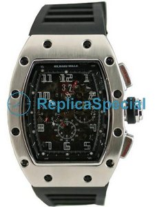 Richard Mille RM 006 Manuale RM - 6 Black Dial Winding gomma Bralecet Bracelet Watch
